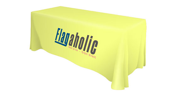 Front Logo Table Throw