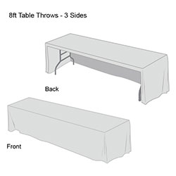 Front Logo Table Throw-9