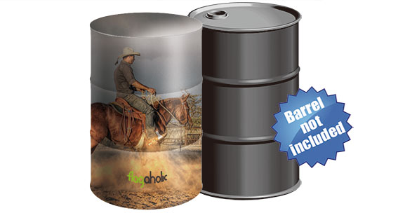Full Color Stretch Barrel Cover