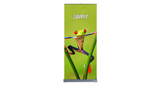 Roll Up Banner Stand (Graphic interchangeable)