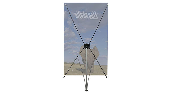Large X Banner Stand-2