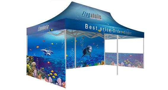 Printed Marquee with Side Walls-2